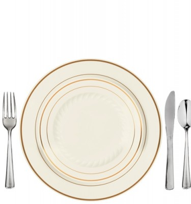 Gold Rimmed Plastic Plates. . Best 20 Plastic Plates Ideas On ...