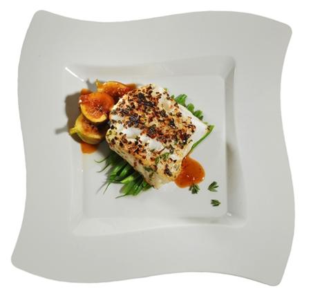 Wavetrends Square Wave Disposable Dinner Plates Bone FL 110 BO Sav