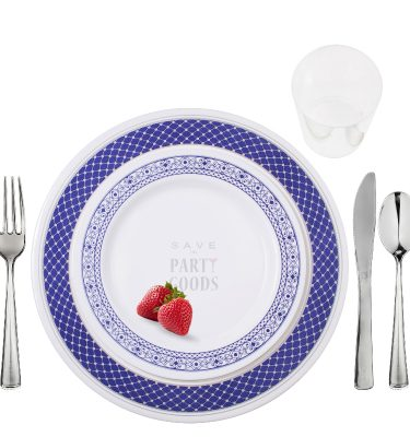 Elegant Plastic Plates & Dinnerware | Save On Party Goods